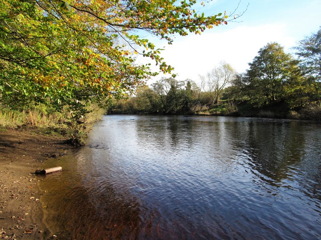 The Tees near Low Coniscliffe