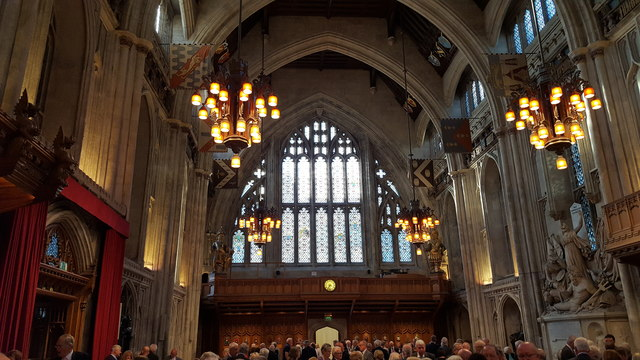 Interior of the Guildhall