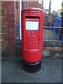 TF6737 : Elizabeth II postbox on High Street, Heacham by JThomas