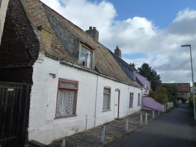Cottages on West End in March, Cambridgeshire