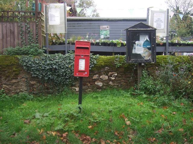 Elizabeth II postbox, Shernborne