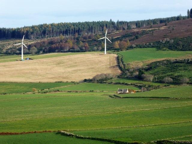 View towards Tillenhilt Cottage