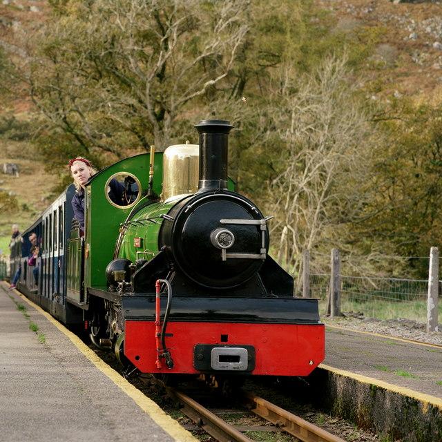 Arriving at Dalegarth