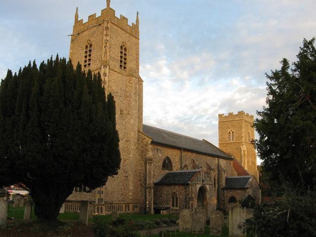 Three Churches in one Churchyard, Reepham