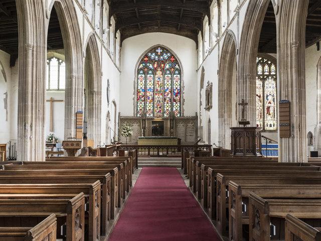 St James, Nayland - East end