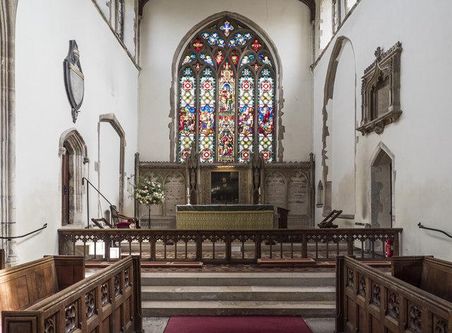 St James, Nayland - Chancel