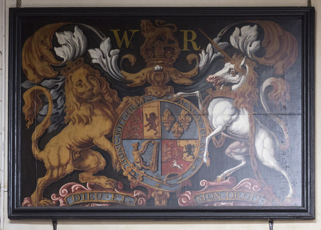 St James, Nayland - Royal Arms