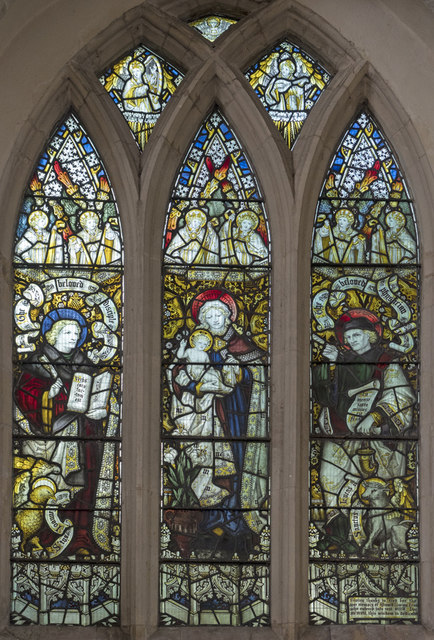 St James, Nayland - Stained glass window
