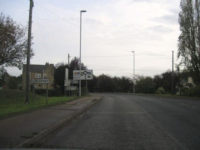 Entrance to Littleport