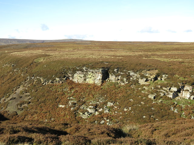 Cliffs above Sipton Cleugh (2)