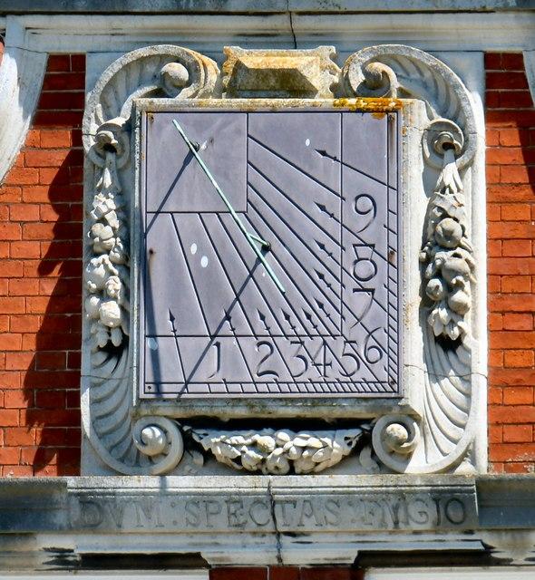 Bodrhyddan Hall sundial
