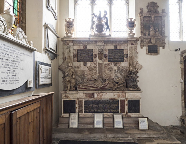 St Mary, Stoke by Nayland - Monument