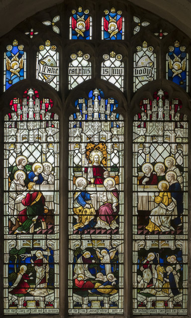 St Mary, Stoke by Nayland - Stained glass window