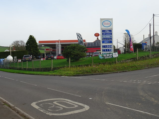 Petrol station and Post Office