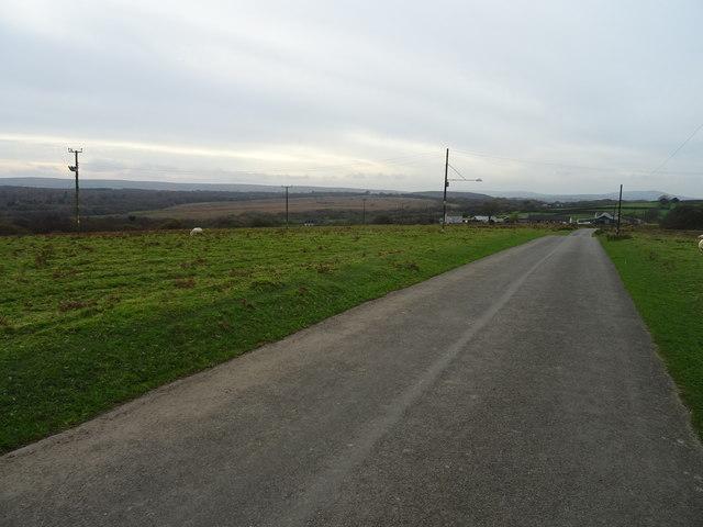 Crossing Welsh Moor to Bryn
