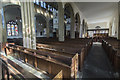 SP0343 : South aisle, St Lawrence's church, Evesham by J.Hannan-Briggs