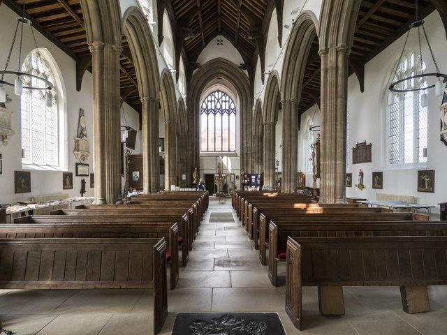 St Giles, Norwich - West end