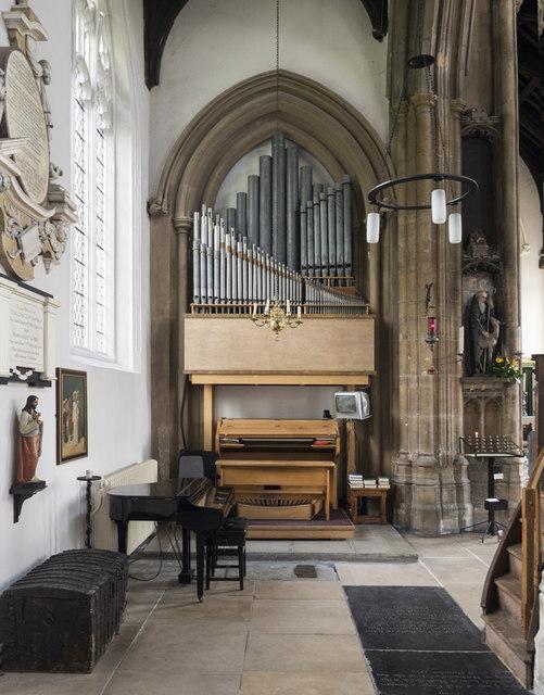 St Giles, Norwich - Organ