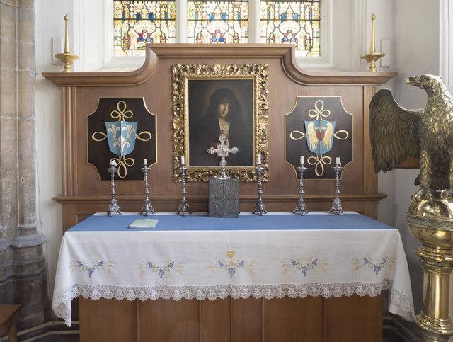 St Giles, Norwich - Altar south chapel