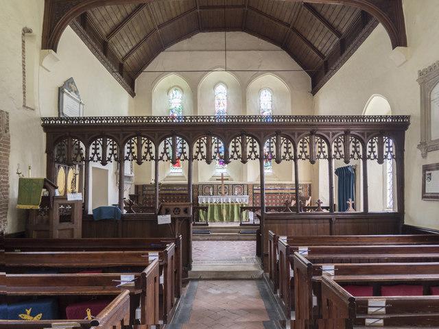 Holy Innocents, Lamarsh - East end