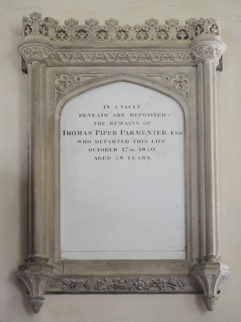 Holy Innocents, Lamarsh - Wall monument