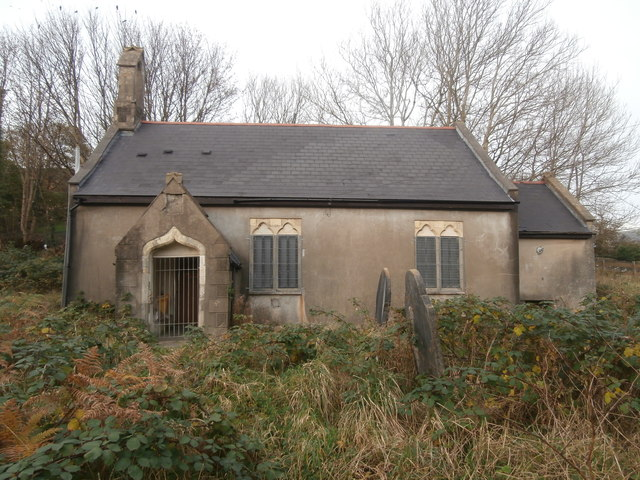 The former Church of St John the Baptist