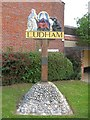 TG3818 : Ludham Village Sign by G Laird