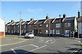 TR3651 : Terrace on Mill Road, Deal by Robin Webster
