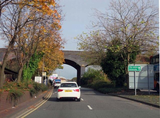 Water Lane in Preston