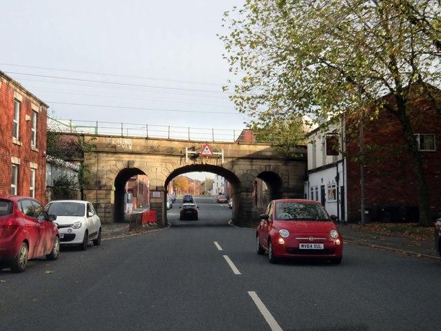 Fylde Road in Preston