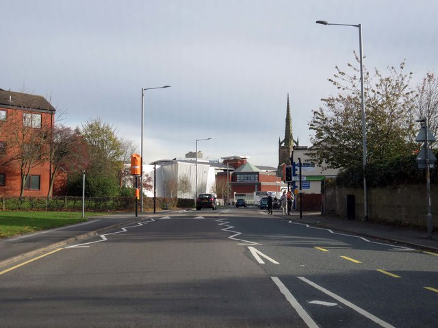 Fylde Road in Preston