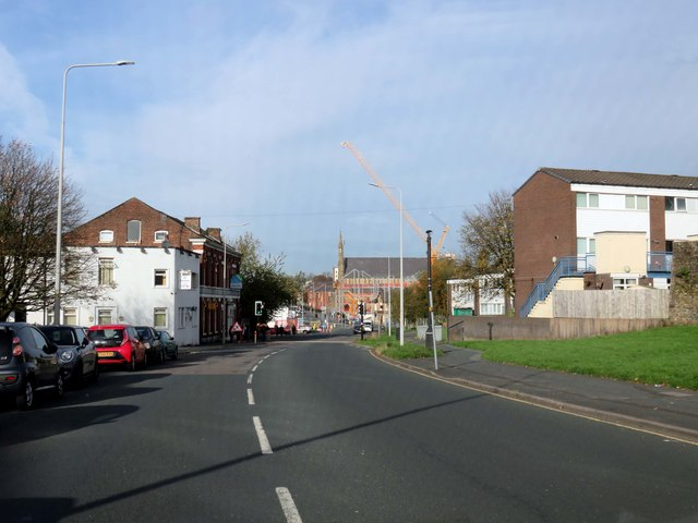 Moor Lane in Preston