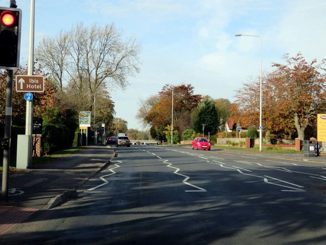 Garstang Road in Preston