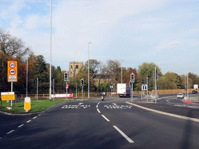 James Towers Way round Broughton