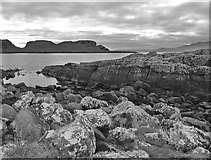 NS0853 : Dunagoil Bay - Isle of Bute by Raibeart MacAoidh