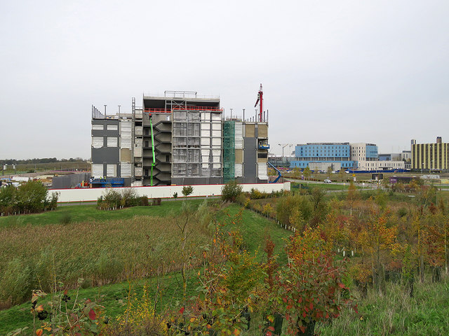 Cambridge Biomedical Campus: building Bellatrix