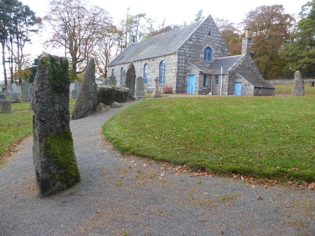 Stone Circle and Midmar Kirk (Christchurch)