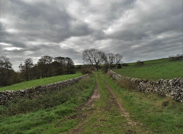 Track to Hoe Grange