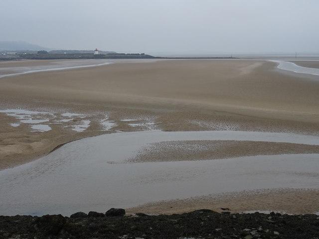Low tide between Pembrey Harbour and Burry Port