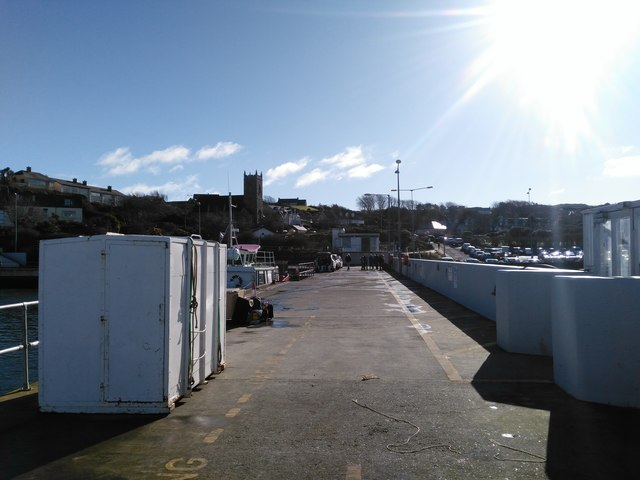 End of Baltimore Pier