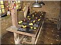 SP0933 : Display of rare apple varieties, Snowshill Manor by David Hawgood