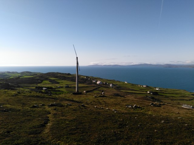 Highest Point on Cape Clear Island