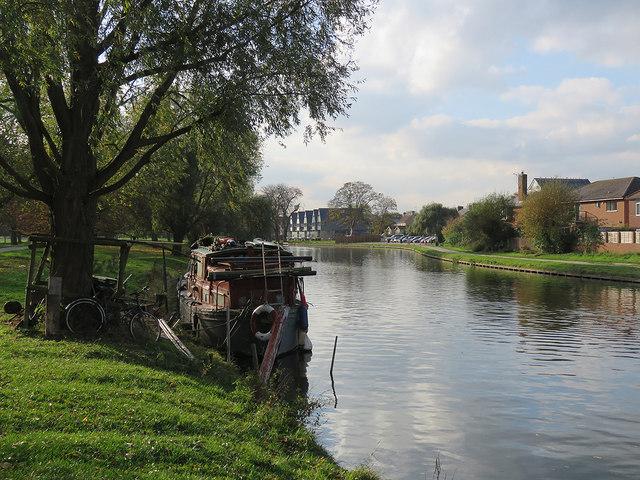 The Cam at Stourbridge Common