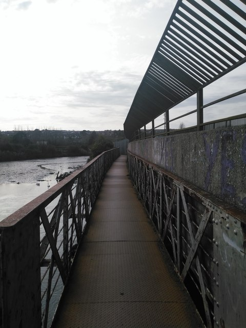 Foot Bridge over the River Vartry