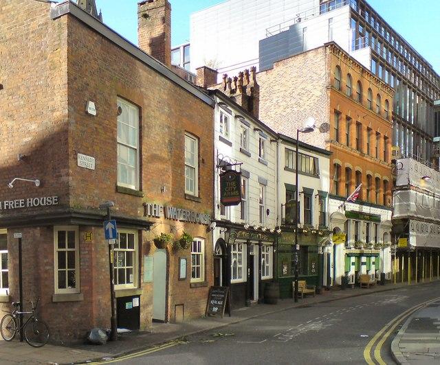 Kennedy Street: Three Pubs