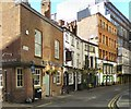 SJ8398 : Kennedy Street: Three Pubs by Gerald England