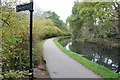 ST2291 : Monmouthshire & Brecon Canal (Crumlin Arm) at Crosskeys by M J Roscoe