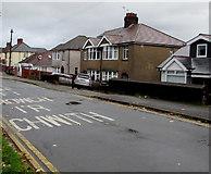 ST3090 : Housing variety, Pillmawr Road, Malpas, Newport by Jaggery
