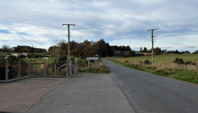 Entry to Tillybirloch