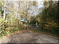 ST0781 : Gate to footpath, Groesfaen by John Lord